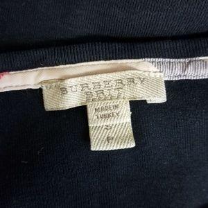 Burberry Tops - Burberry Brit 3/4 Sleeve Top Nova Check Cuff